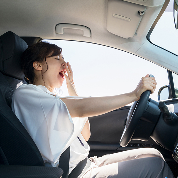 Driving While Tired - Greenville Chiropractor
