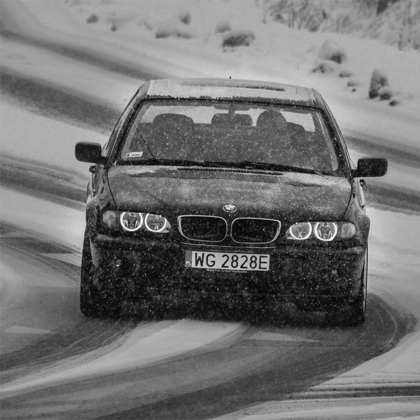 Driving in Snow - Greenville Chiropractor